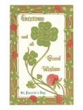 St. Patricks Day, Greetings, Etc. Poster