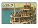 S.S. Mandalay, Crowded Ferry Posters