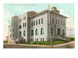 Custom House, Port Townsend, Seattle, Washington Poster