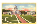 State Capitol, Olympia, Washington Posters
