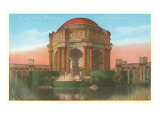 Palace of Fine Arts, San Francisco, California Poster