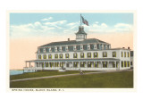 Spring House, Block Island, Rhode Island Posters
