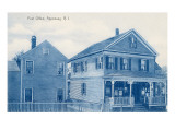 Post Office, Apponaug, Rhode Island Posters