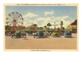 Folly's Playground, Folly Beach, South Carolina Posters