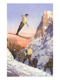 Ski Jumper Prints