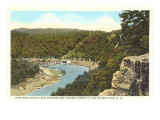 Kanawha Power Company Dam, West Virginia Poster