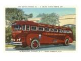 Newark Transit Bus Poster