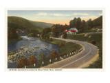 Straße nach Wilminton, Vermont Kunstdrucke