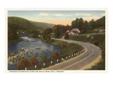 Road into Wilmington, Vermont Prints
