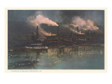 Carnegie Furnaces, Braddock, Pennsylvania Posters