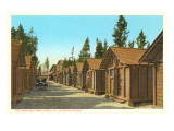 Sleeping Cabins and Lodge, Yellowstone National Park Posters