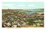 Overview of Tacoma, Washington Prints
