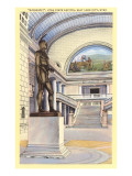 Statue of Massasoit, Salt Lake City, Utah Art