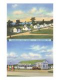 Champlain Park Cabins, Burlington, Vermont Poster