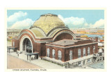 Union Station, Tacoma, Washington Prints