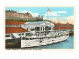 Steamer at Dock, Tacoma, Washington Posters