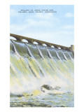 Spillway, Grand Coulee Dam, Washington Poster