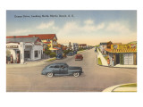 Ocean Drive, Myrtle Beach, South Carolina Prints
