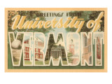 Greetings from University of Vermont Prints