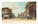 Main Street, Oshkosh, Wisconsin Kunstdrucke