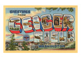 Greetings from Geiger Field, Washington Prints