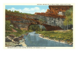 Natural Bridge, La Prele Creek, Casper, Wyoming Posters