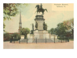 Washington Monument, Richmond, Virginia Prints
