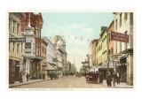 King Street, Charleston, South Carolina Poster