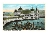 Saltair Pavilion, Great Salt Lake, Utah Print