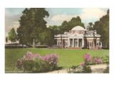 Monticello, Charlottesville, Virginia Print