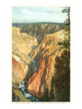 Yellowstone Canyon, Yellowstone National Park Prints
