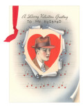 To My Husband, Valentine Sheet Music Prints