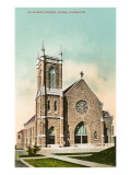 St. Patrick's Church, Tacoma, Washington Posters