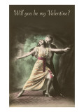 Will You Be My Valentine, Tango Dancers Posters