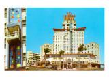 El Cortez Hotel, San Diego, California Poster