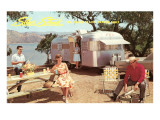 Silver Streak Travel Trailer Prints