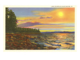 Lake Champlain, Burlington, Vermont Posters