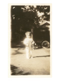 Blurry Little Girl with Toys Posters