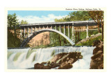 Saxtons River Bridge, Bellows Falls, Vermont Print