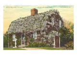 Betsy Williams House, Providence, Rhode Island Prints