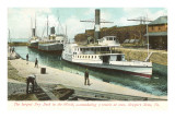 Dry Dock, Newport News, Virginia Prints