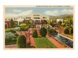Samarkand Persian Hotel, Santa Barbara, California Posters