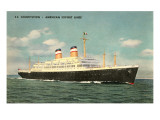 S.S. Constitution, Ocean Liner Posters