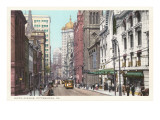 Sixth Avenue, Pittsburgh, Pennsylvania Posters