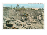 Granite Quarry, Barre Vermont Poster