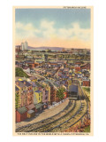 Inclined Railway, Pittsburgh, Pennsylvania Print