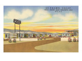 29 Palms Civic Center Vintage Motel Affiches