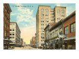 C Street, Tacoma, Washington Prints