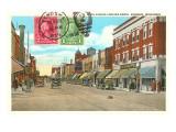 Sixth Avenue, Kenosha, Wisconsin Prints
