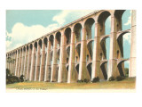 Viaduct in Chaumont, France Posters